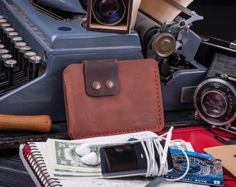 Handmade waallet leather wallet personalized leather wallet mens wallet slim wallet credit card wallet thin wallet minimalist wallet wallets