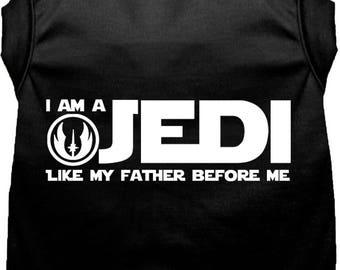 I Am Jedi Like My Father Before Me Vest, Shirt