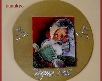 "3D map of Christmas ""Santa"""