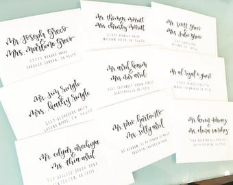 Wedding Envelopes (Addressed)