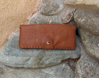 Yak Leather Clutch Wallet