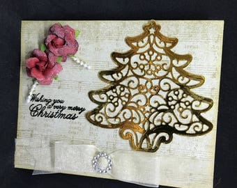 Golden Christmas Wishes
