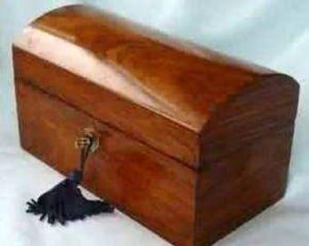 ROSEWOOD Scent Perfume Casket Box