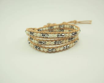 The White Wrap Bracelet
