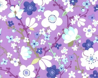 GOOD FORTUNE by MODA FABRICS purple patchwork fabric