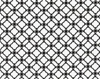 black and white patchwork fabric Robert Kaufman PIMATEX
