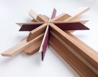 Wooden Cross using Reclaimed Woods