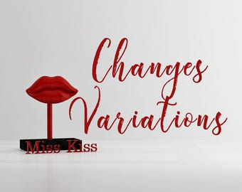 Changes and Variations fee for single item