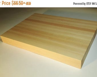 "Professional butcher block cutting board, Select hard maple 2"" thick"