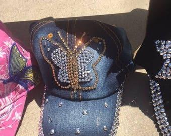 Handmade Bling Hats