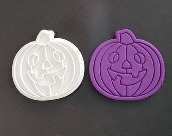 Halloween Pumpkin Cookie Cutter and Stamp