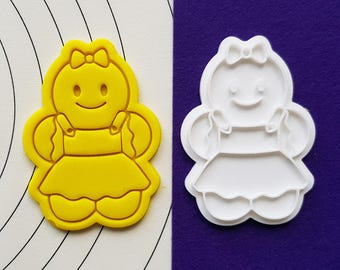 Gingerbread Girl Cookie Cutter and Stamp