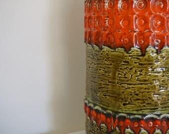Ü-Keramik 1474-30 retro vase vintage West Germany