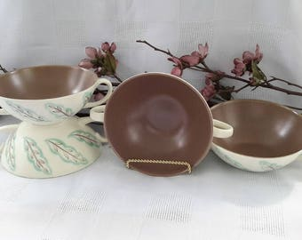 Featherdrift by Pool, Cream Soup Bowls, Set of Four, England