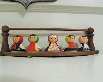 Polish traditional dancers folk art