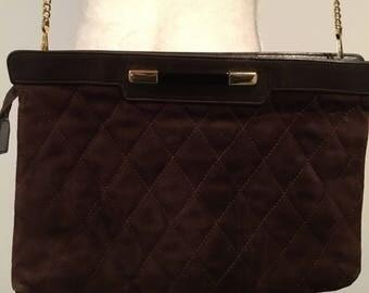 Nice suede handbag
