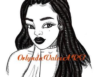 Locs Queen