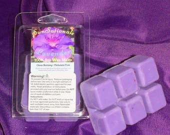 Lavender ~ 100% Soy Wax Melt ~ Soothing, Calming, Relaxing