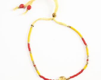Miyuki and Citrine bracelet