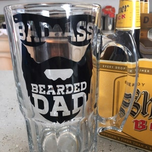 Beard Svg Dad Svg Bearded Dad Gifts For Dad Funny Dad