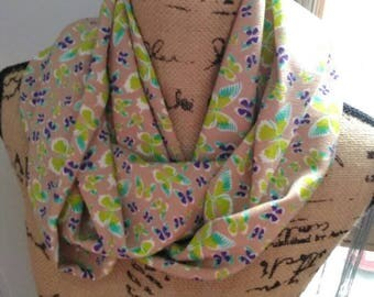 Snood scarf patterns & nine butterflies hand