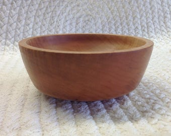 Maple Bowl, Wood-turned