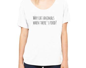 white vegan t-shirt