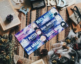 Harry Potter Chibi Bookmarks