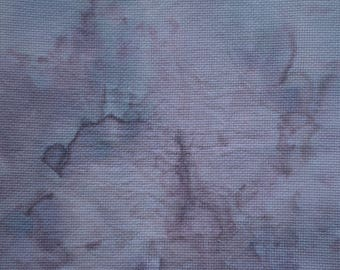 14 ct. Aida Hand Dyed Cross Stitch Fabric - Faded