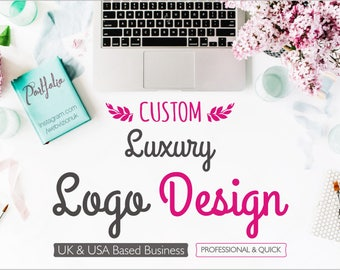 Luxury Logo Design, Custom Logo Design, Exclusive Logo, Corporate Logo Design, Get the Exclusive Ownership and Rights