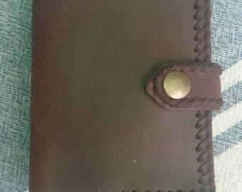 Handmade Leather Briefcase.