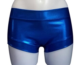 Pole short - Metallic Blue