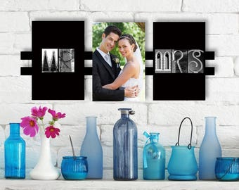 Mr. & Mrs. Wedding Frame