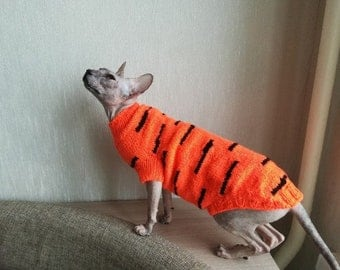 """Sweater for sphinxes """"Tiger"""""""