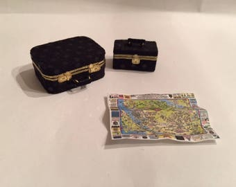 Dollhouse Miniature Luggage 1:12 Scale
