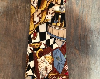 Italian Pastries and Cafe Tie by Nicole Miller