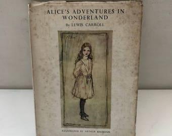 Alice in Wonderland  Lewis Carroll Heinemann Illustrated by Rackham  1947