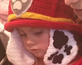 Crocheted Marshall Hat