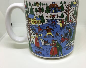 Winter Wonderland Coffee Cup