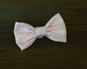 The Rose Garden Pet Bow Tie, Handmade Bowtie for Dogs and Cats