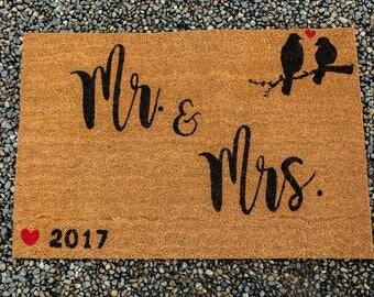 MR. & MRS. DOORMAT/ Wedding Gift