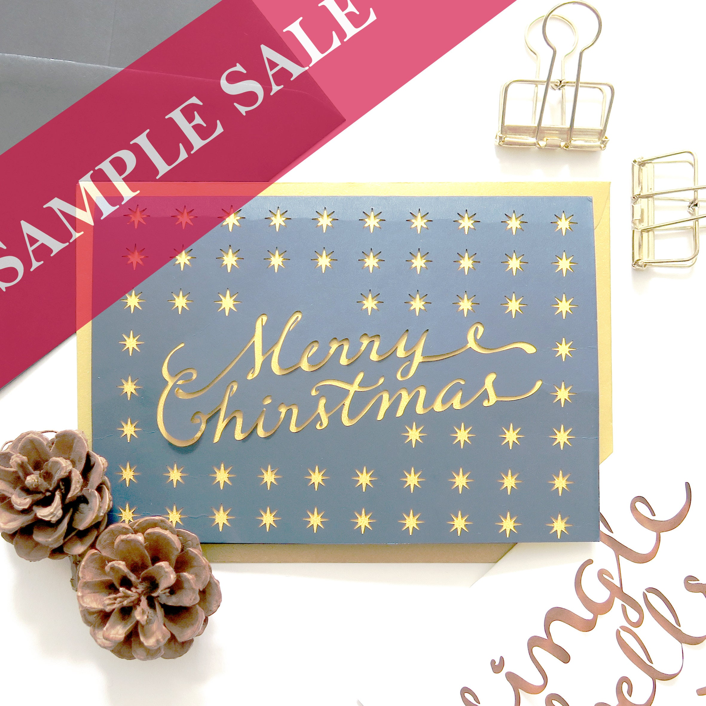 Sample sales Christmas cards Sample sale cards Budget Christmas