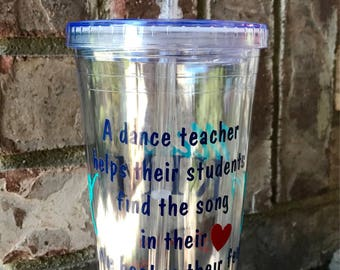 Show appreciation for your Dance Instructor with a personalized gift!