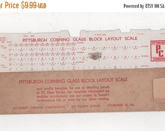 pittsburgh corning glass block layout scale profile template in detailing panels of pc glass blocks two