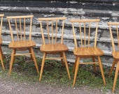 5 Ercol 391 All Purpose Chairs