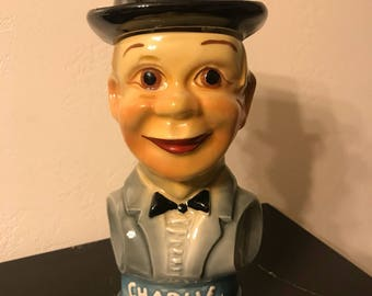 "Jim Beam ""Charley McCarthy"" Decanter"