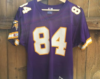336f63960 reebok minnesota vikings randy moss 84 brown authentic jerseys sale