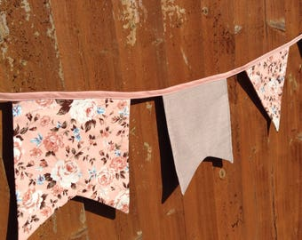 Pretty vintage style bunting