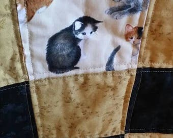 Cute Kitty Lap Quilt