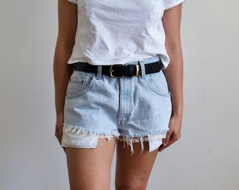 Women's Vintage Pale Blue Levi's Denim Shorts
